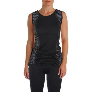 Ellen Tracy Womens Tank Top Yoga Fitness