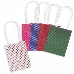 "Brights - Paper Bags 2""X3.875""X5.125"" 5/Pkg"