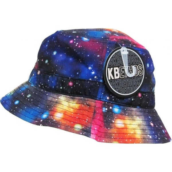 Shop KBETHOS Trends Bucket Hat Cap - Galaxy - Black - (1-1)galaxy - black -  Free Shipping On Orders Over  45 - Overstock - 20669541 45c2084b82e