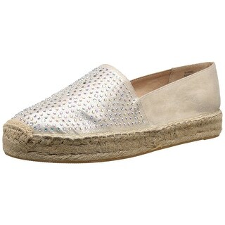 White Mountain Womens Harmonize Fabric Almond Toe Espadrille Flats