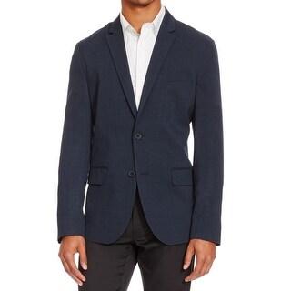 Reaction Kenneth Cole NEW Blue Men Medium M (42) Slim Two Button Blazer