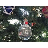 4 in. Santa Maria Model Ship in a Glass Bottle Christmas Ornament