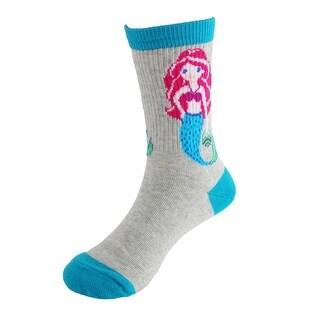 K. Bell Girl's Fashion Mermaid Socks