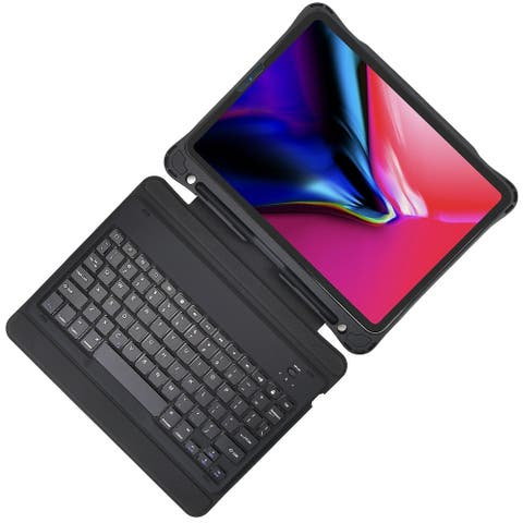 Keyboard CaseUltra-Thin Bluetooth Keyboard with Full Protection Case for Apple iPad Pro 11-inch