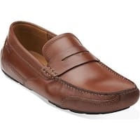 Clarks Men's Ashmont Way Cognac Leather