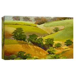 "PTM Images 9-101814  PTM Canvas Collection 8"" x 10"" - ""Golden Hills"" Giclee Rural Art Print on Canvas"