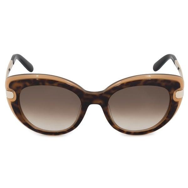ec0233b9a79da Shop Salvatore Ferragamo Cat Eye Sunglasses SF813S 226 52 - Free ...