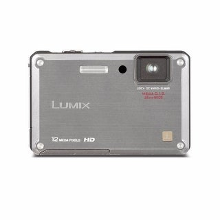 Panasonic Lumix DMC-TS1 Waterproof 12.1MP Silver Digital Camera (Refurbished)