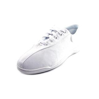 Easy Spirit Ap1 Women 2E Round Toe Canvas White Sneakers