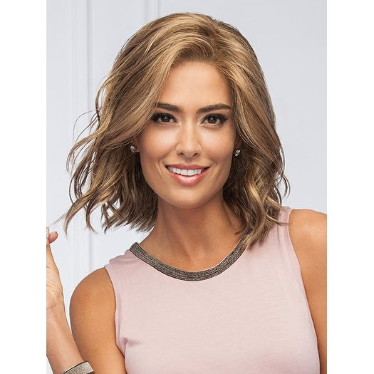 Soft and Subtle Average/Large (Adjustable) - Synthetic, Lace Front, Monofilament Part Wig