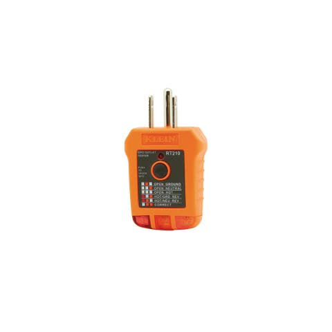 Klein tools gfci receptacle tester