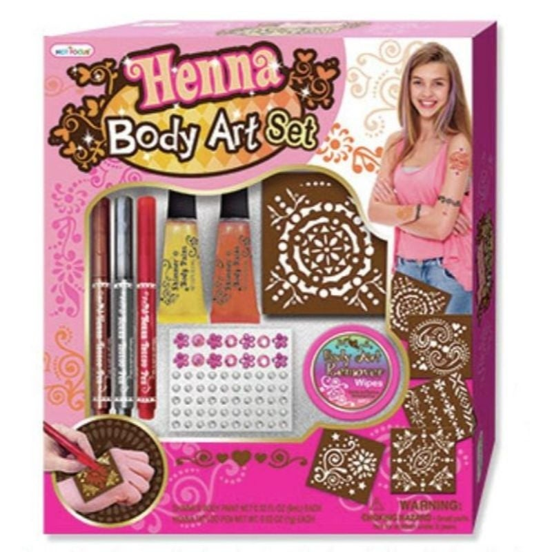 Deluxe Shimmer Body Art Kit
