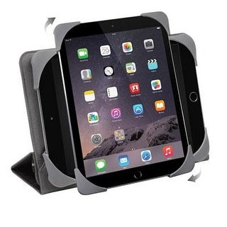 """Targus Fit-N-Grip Universal Rotating Case For 7-8"""" Tablets (Thz590us)"""