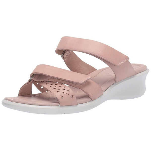 ecco closed toe sandals