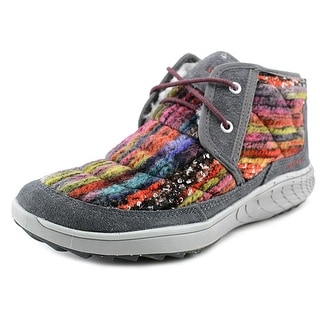 Merrell Pechora Mid Women Round Toe Canvas Multi Color Chukka Boot