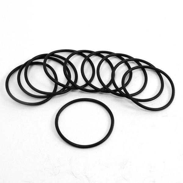 Unique Bargains Black Flexible Rubber O Rings Oil Seal Gaskets ...