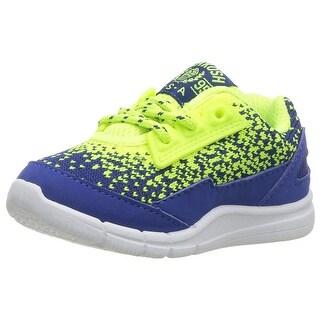 Kids OshKosh B'Gosh Boys Atalanti-b Fabric Low Top Lace Up Fashion Sneaker