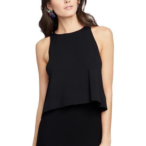 Rachel Rachel Roy Womens Tank Top Sweater Split-Back Crop