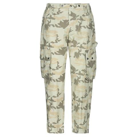 Faith Connexion Mens Camouflage Cargo Pants Large Army Khaki