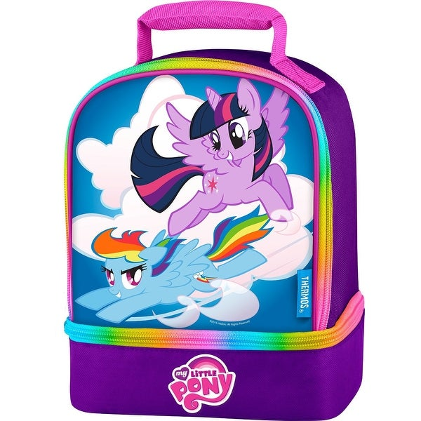a9b080b03a8c41 Shop Thermos Dual Compartment Lunch Kit (My Little Pony) - Free Shipping On  Orders Over $45 - Overstock - 23066934