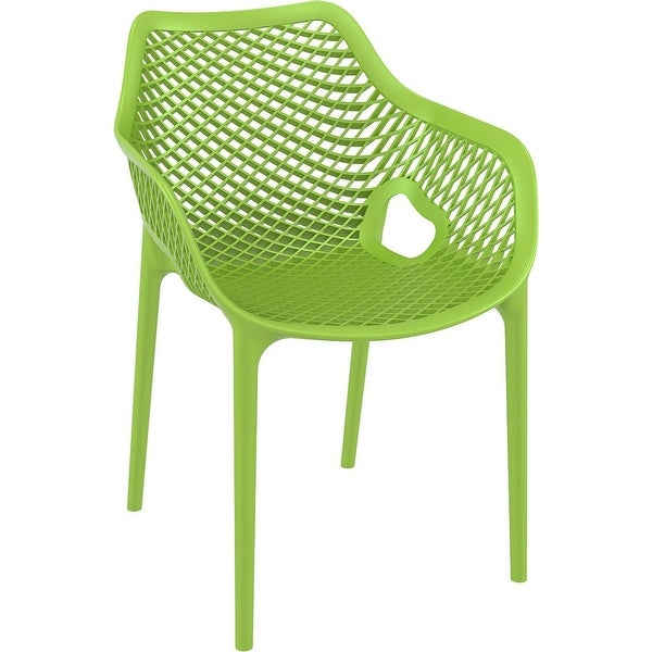 Compamia Air XL Outdoor Dining Arm Chair Set of 2 - Tropical Green