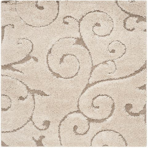Safavieh Florida Shag Shahin Scroll 1.2-inch Thick Rug