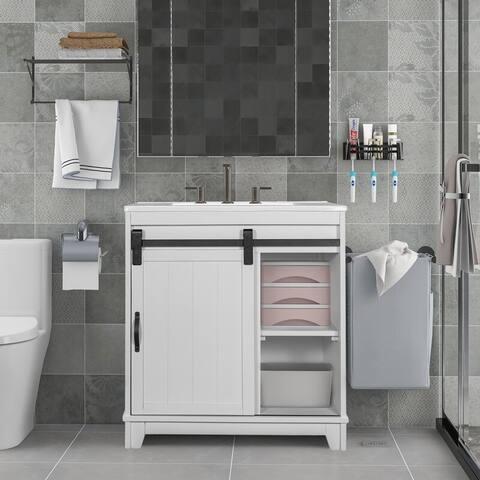 """Turnersville 10.4"""" Single Bathroom Vanity Set"""