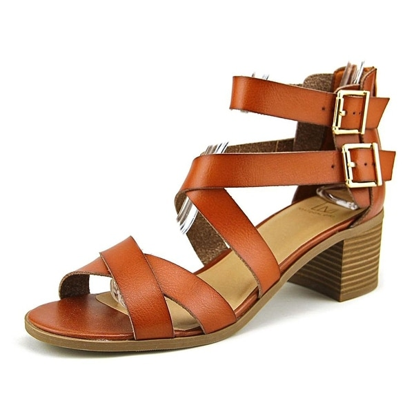 Material Girl Womens Danee Fabric Open Toe Casual Strappy Sandals