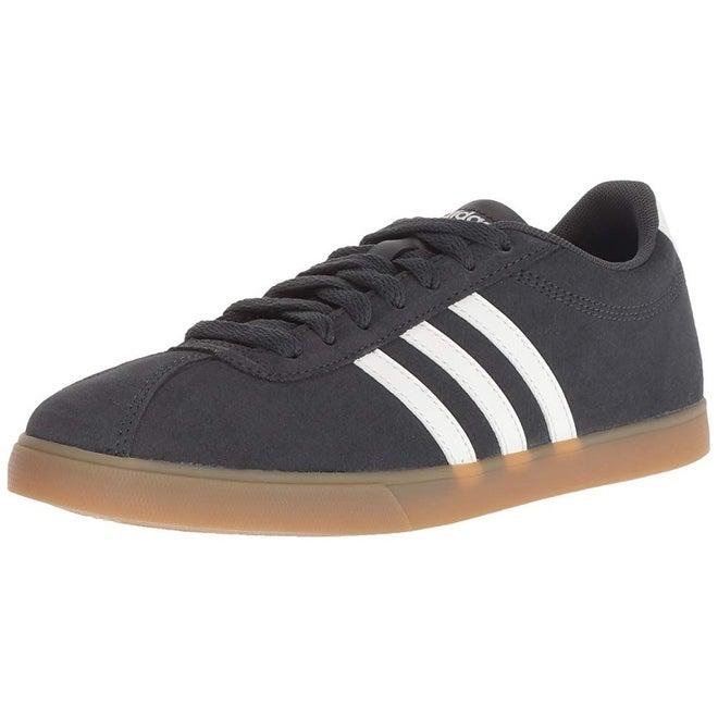 Adidas Women's Courtset Sneaker CarbonCloud WhiteCarbon, 9 M Us