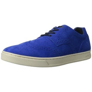 Diesel Mens Prime Time Suede Wingtip Casual Shoes