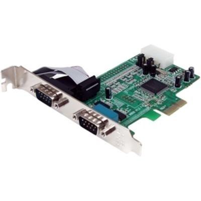 Startech.Com Pex2s553 2 Port Native Pci Express Rs232 Serial Adapter Card