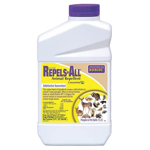 Bonide 237 Repels-All Animal Repellent, Concentrate, 32 Oz