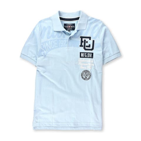 Ecko Unltd. Mens High Class Rugby Polo Shirt