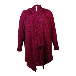 Jessica Simpson Women's Serena Hooded Cardigan Sweater - 2x