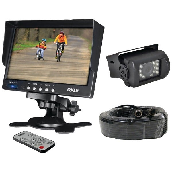 "PYLE PRO PLCMTR71 7"" Weatherproof Backup Camera System with IR Night Vision Camera"