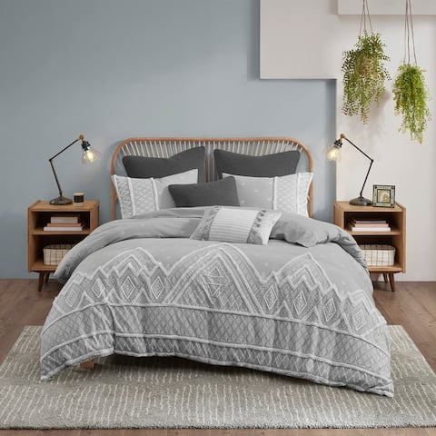 Marta Flax and Cotton Blended Comforter Set by INK+IVY