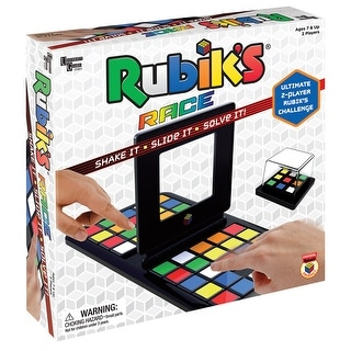 Children's Rubik's Race Game - TableTop - Two Players - Ages 7 and Up - MultiColor