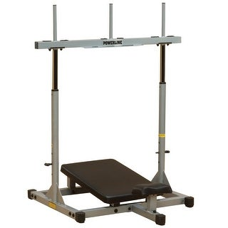 Body-Solid Powerline Vertical Leg Press - metal