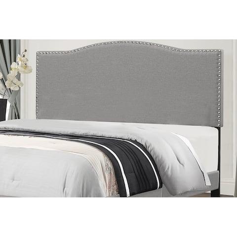 Copper Grove Durkheim Grey Fabric-upholstered Headboard