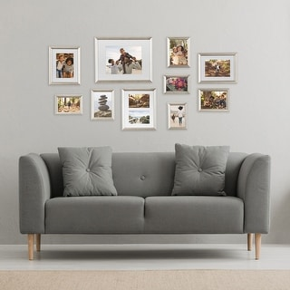Link to Kate and Laurel Adlynn Glam Wall Picture Frame Set Similar Items in Decorative Accessories