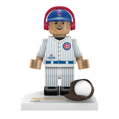 Chicago Cubs 2016 World Series Champions Kris Bryant #17 Minifigure - Multi