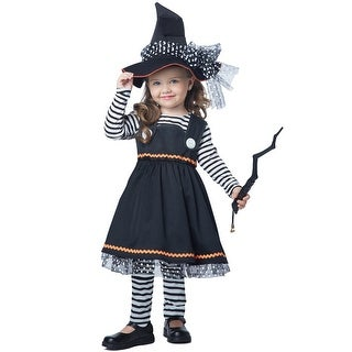 California Costumes Crafty Little Witch Toddler Costume - Black (2 options available)