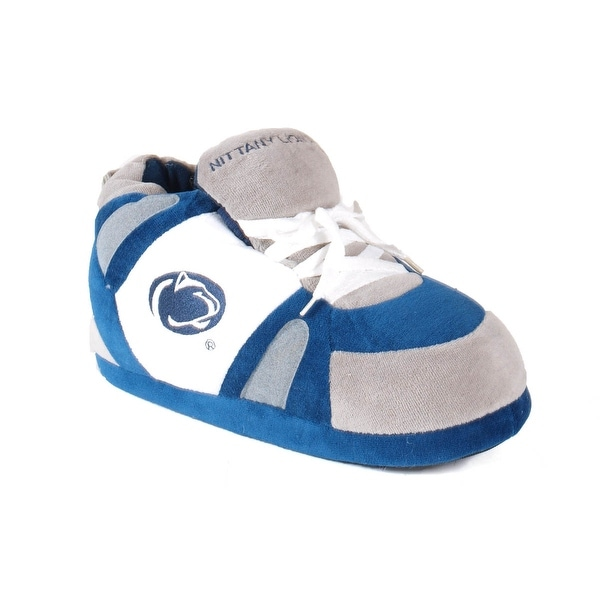 Happy Feet Mens and Womens Penn State Nittany Lions NCAA Slippers - penn state nittany lions