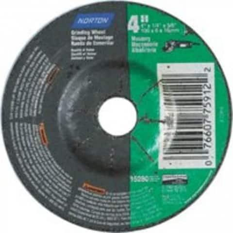 """Norton 66252842010 Masonry Silicone Carbide Grinding Wheel, 4""""x1/4""""x5/8"""""""