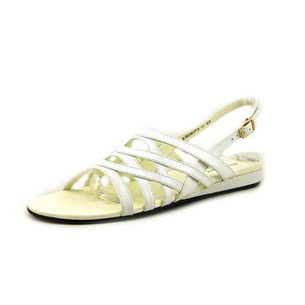 Mark Lemp By Walking Cradles Lanie N/S Open-Toe Synthetic Slingback Sandal