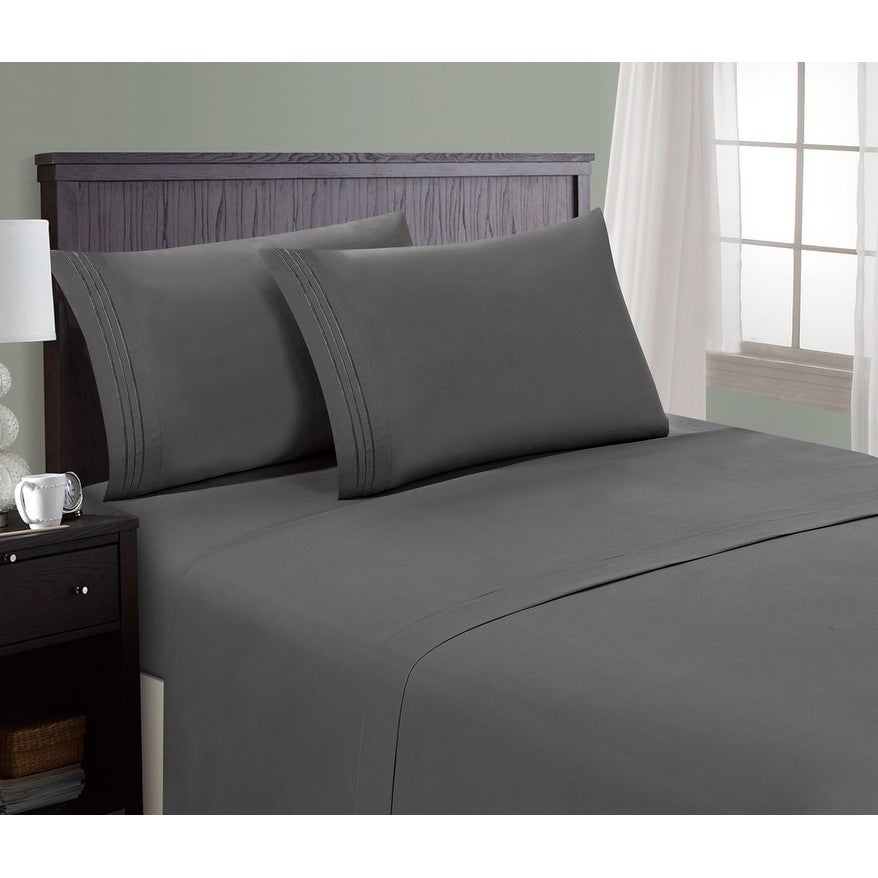 Hotel Luxury Bed Sheets Set 1800 Series Platinum Collection, Deep Pockets,  Wrinkle U0026amp;