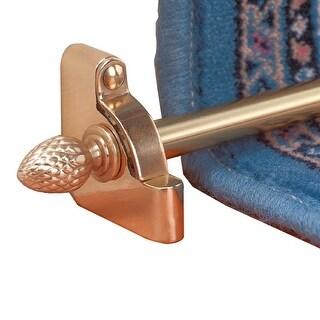1/2 D Solid Brass Stair Carpet Rod Set 36 L Pineapple Tip Renovator's Supply