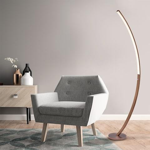 T20 Brady Copper Floor Lamp