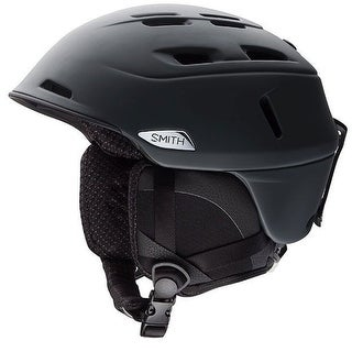 Smith Optics Camber MIPS Snow Helmet (Matte Black/Medium) - Black