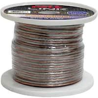 Pyle PSC18100 18 Gauge 100 ft. Spool of High Quality Speaker Zip Wire